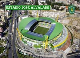 Portugal Sporting Lisbon Alvalade XXI Stadium New Postcard Satdion AK - Football