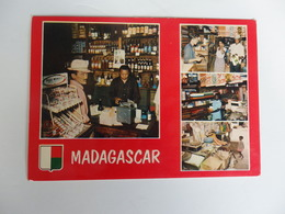 Madagascar, Commerçant Chinois. - Madagascar