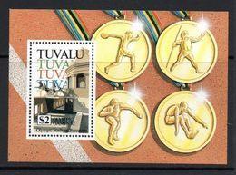 TUVALU 1992 - OLYMPICS BARCELONA'92 - YVERT HB 41 - MICHEL BLOCK 43 SCOTT SS 616 - Verano 1992: Barcelona