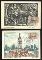 2 Cartes Maximum Premier Jour Vienne Le 16/03/1963 N° 1378 Journée Du Timbre Facteur Gallo Romain  TB Soldé ! ! ! - Cartes-Maximum