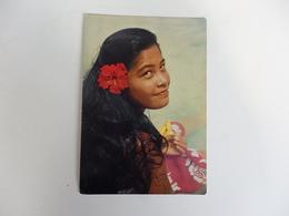 Tahiti, Une Belle Tahitienne. - Frankreich