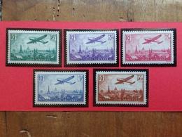 FRANCIA 1936 - Posta Aerea Incompleta Nuovi ** + Spese Postali - France