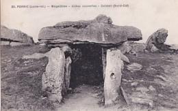 PORNIC      MAGALITHES.     ALLEES  COUVERTES . DOLMEN  NORD EST - Dolmen & Menhirs