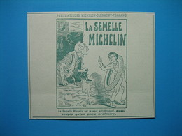 (1906) La Semelle MICHELIN - Old Paper