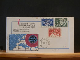 82/901A FDC   BELG.  1954 - Rotary, Lions Club