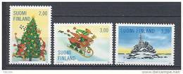 Finlande 1998  Neufs N°1423/1425 Noël - Finland