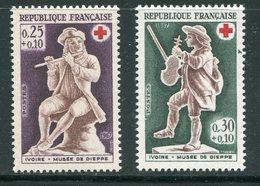 FRANCE- Y&T N°1540 Et 1541- Neufs Sans Charnière ** (croix Rouge) - Nuovi