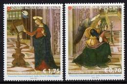 "Ordre De Malte SMOM 1181/82 Pinturicchio "" Annonciation "" - Religione"