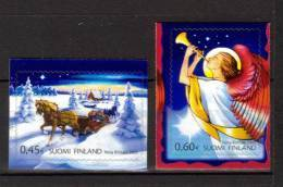 Finlande 2002 Neufs N°1593/94 Noël - Finlande