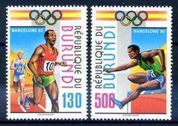 BURUNDI 1992 - BARCELONA OLIMPICS 92 - YVERT Nº 980-981** MICHEL 1762-1763 - SCOTT 695-696 - Verano 1992: Barcelona