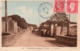 Champagné Les Marais : L'entrée - Frankrijk