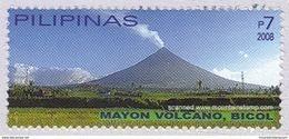 Philippines 2008 Mayon Volcano Vulkan Volcans ** MNH - Timbres