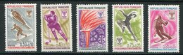 FRANCE- Y&T N°1543 à 1547- Neufs Sans Charnière ** (J.O Grenoble) - Winter 1968: Grenoble