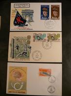 Nouvelles-Hébrides - 3 Enveloppes Premier Jour - Timbres