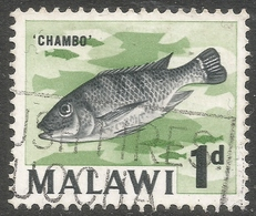 Malawi 1964 Definitives. 1d Used. SG 216 - Malawi (1964-...)