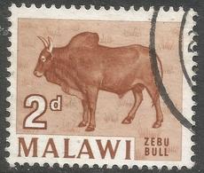 Malawi 1964 Definitives. 2d Used. SG 217 - Malawi (1964-...)