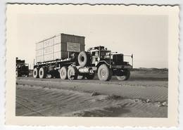 Lot De 16 PHOTOS ALGERIE ( Afrique ) - Region SAHARA Central, Region In Anemas , Fort Hassi Isendjel, Avion , Convoi ... - Algérie