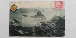 Entrada Do Rio De Janeiro Vista Do Corcovado,Brasil, 1910 - Rio De Janeiro