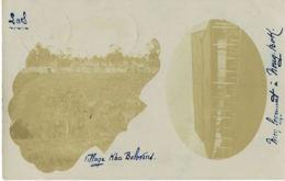 LAOS  -Carte Photo SAVARANE- écrite En 1907 Par  Le Chef Du Bureau Militaire De La Garde Indigène -Texte Documentaire - Laos