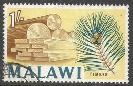 Malawi 1964 Definitives. 1/- Used. SG 258 - Malawi (1964-...)