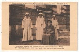 COTONOU (1930) - Au Fond, Le Mur De L'église En Construction - Missions