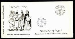 A5968) Marokko Maroc Souvenir Sheet With Enveloppe PHILATEC 1970 - Marokko (1956-...)