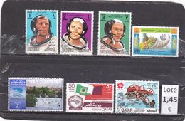 Qatar  -  Lote  7  Sellos Diferentes   - 3/1327 - Qatar
