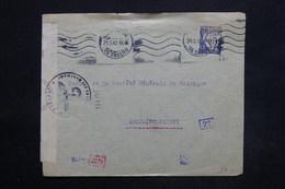 PORTUGAL - Enveloppe De Lisbonne Pour La Belgique En 1942 Avec Contrôle Postal Allemand - L 25264 - 1910-... République