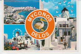 Myconos Mykonos Delos Windmill Unused - Moulins à Vent