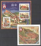 L230 2009 ROMANIA ARCHITECTURE ART PATRIMONIU MONDIAL UNESCO 1BL+1KB MNH - Autres