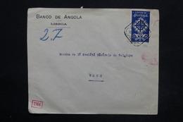 PORTUGAL - Enveloppe Commerciale De Lisbonne Pour La Belgique En 1940 Avec Contrôle, Affranchissement Plaisant - L 25268 - 1910-... République