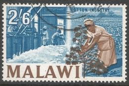 Malawi 1964 Definitives. 2/6 Used. SG 224 - Malawi (1964-...)