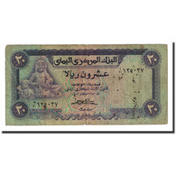Billet, Yemen Arab Republic, 20 Rials, Undated (1985), KM:19b, TB - Yemen