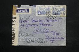 PORTUGAL - Enveloppe De Estoril Pour Le Royaume Uni En 1941 Avec Contrôle Affranchissement Plaisant - L 25274 - 1910-... République