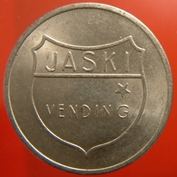 KB224-4 - JASKI VENDING HILVERSUM - Hilversum. - WM 26.0mm - Machine Penning - Machine Token - Professionnels/De Société