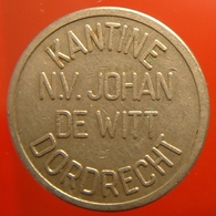 KB229-1 - N.V. JOHAN DE WIT KANTINE DORDRECHT - Dordrecht - WM 22.5mm - Koffie Machine Penning - Coffee Machine Token - Professionnels/De Société