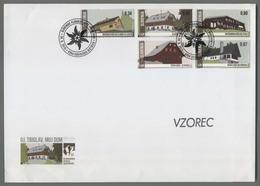 C4490 SLOVENIA FDC 2015 SLOVENSKE PLANINSKE KOCE BOHINJSKA BISTRICA ExtraGrand Envelope - Slovenia