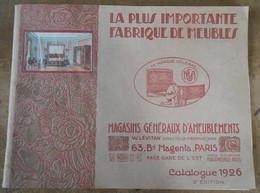 La Plus Importante Fabrique De Meubles – Catalogue Lévitan 1926 - Autres