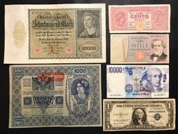 Cassa Veneta Dei Prestiti 1918 + Regno + Luogoteneza + Repubblica + Estero 15 Biglietti Misti LOTTO 2429 - [ 1] …-1946 : Regno