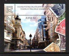 YUGOSLAVIA 2002 JUFIZ XI Block MNH / **.  Michel Block 55 - Blocs-feuillets