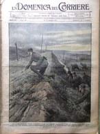 La Domenica Del Corriere 10 Giugno 1917 WW1 Milano De Windt Carso Terrorismo Usa - Guerra 1914-18