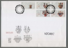 C4491 SLOVENIA FDC 2014 PLEMISKI GRBI ExtraGrand Envelope Fatto - Slovenia