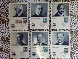 SAN MARINO - 6 Cartoline Maximum - Preolimpica Roma 1960 + Spese Postali - Interi Postali