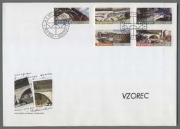 C4493 SLOVENIA FDC 2013 BRIDGES MOSTOVI ExtraGrand Envelope - Slovenia