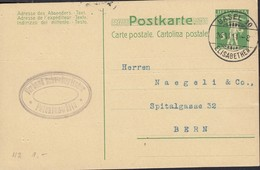 SCHWEIZ  MiNr. P 39, Mit Stempel: Wolhusen 8.IX.10 - Enteros Postales