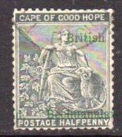 Bechuanaland 1888 ½d Green Overprint On Cape Of Good Hope, Used, SG 30 (BA2) - Bechuanaland (...-1966)