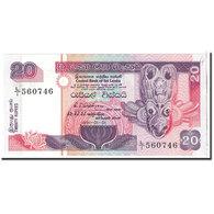 Billet, Sri Lanka, 20 Rupees, 1991, 1991-01-01, KM:103a, NEUF - Sri Lanka