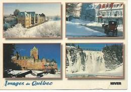 Amerique : Canada : Quebec : Multivues 120X170 - Quebec
