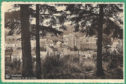 ! - Belgique - Houffalize - Panorama Vu De La Croix - Avec Timbre COB OBP 426 - Houffalize