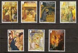 Gibraltar 2018 Micheln° 1887-1893 *** MNH Cote 20 Euro  Noël Kerstmis Christmas - Gibraltar